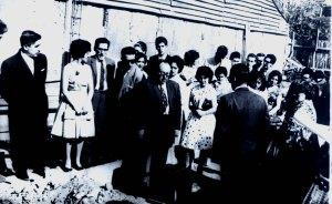 Primera piedra, Pastor Ramón Freire 1961